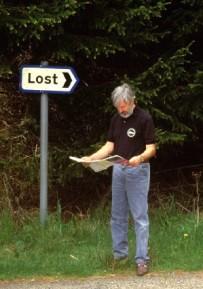 lost man map