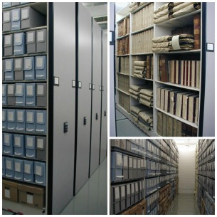 Peel archives storage