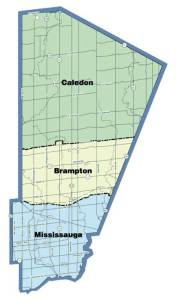County of Peel, 1974-present