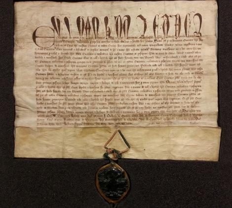 Charter of Edward II, CA/1/2, Cumbria Archive Service