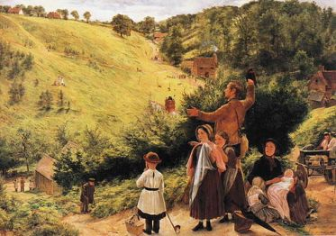 Massive English emigration in the nineteenth century spawned artistic interpretations of what was a life-changing event. Lucille Campey points out that in this painting by