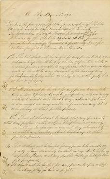Township of Toronto bylaw 292 (1874)
