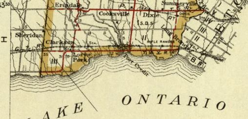Toronto Hamilton Highway- Peel County 1919