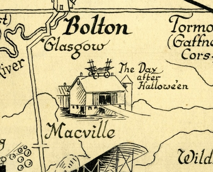 Albion Township animated map, [ca. 1933], segment