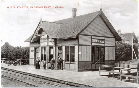 Grand Trunk Railway station, Caledon East, [ca. 1905] PN2009_91147